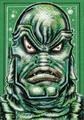 CREATURE FROM THE BLACK LAGOON IN GREEN